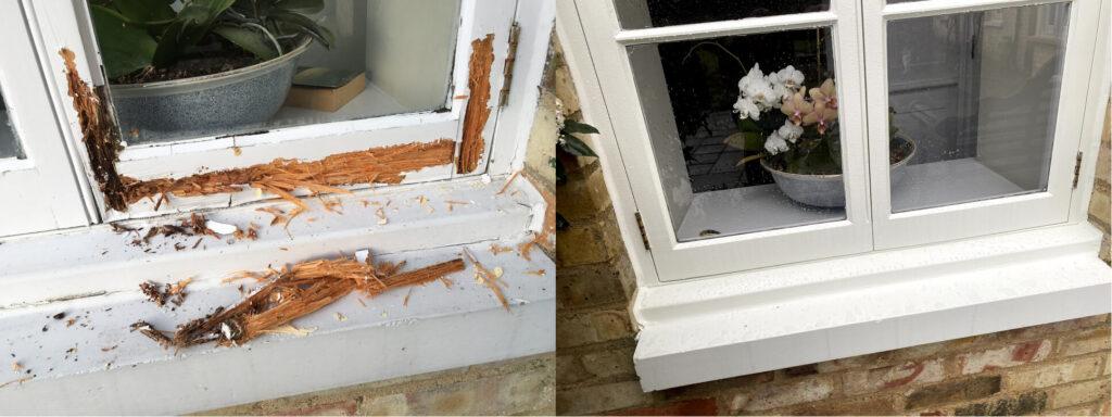 sash windows repair Hertfordshire