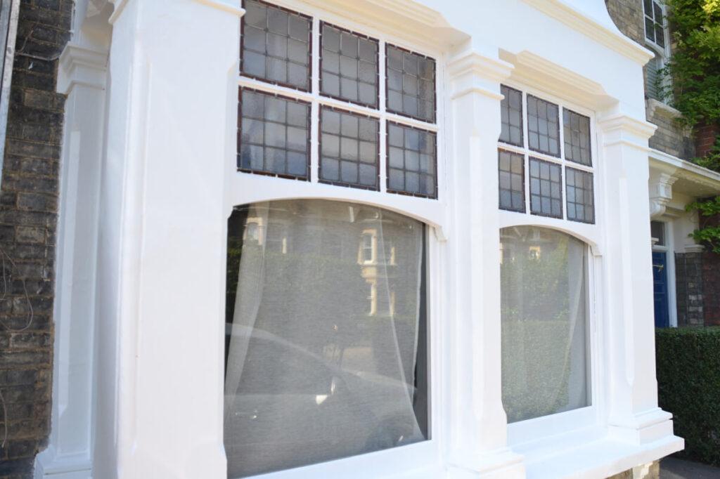 Victorian building Windows