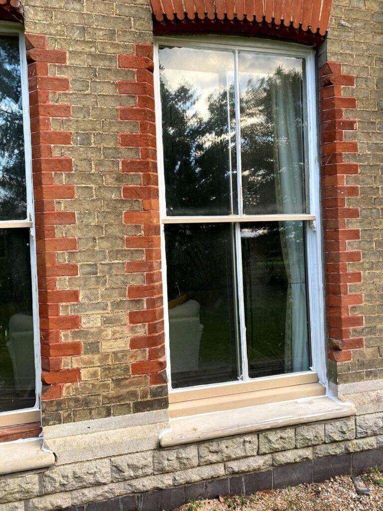 Viktoria sash windows restoration process
