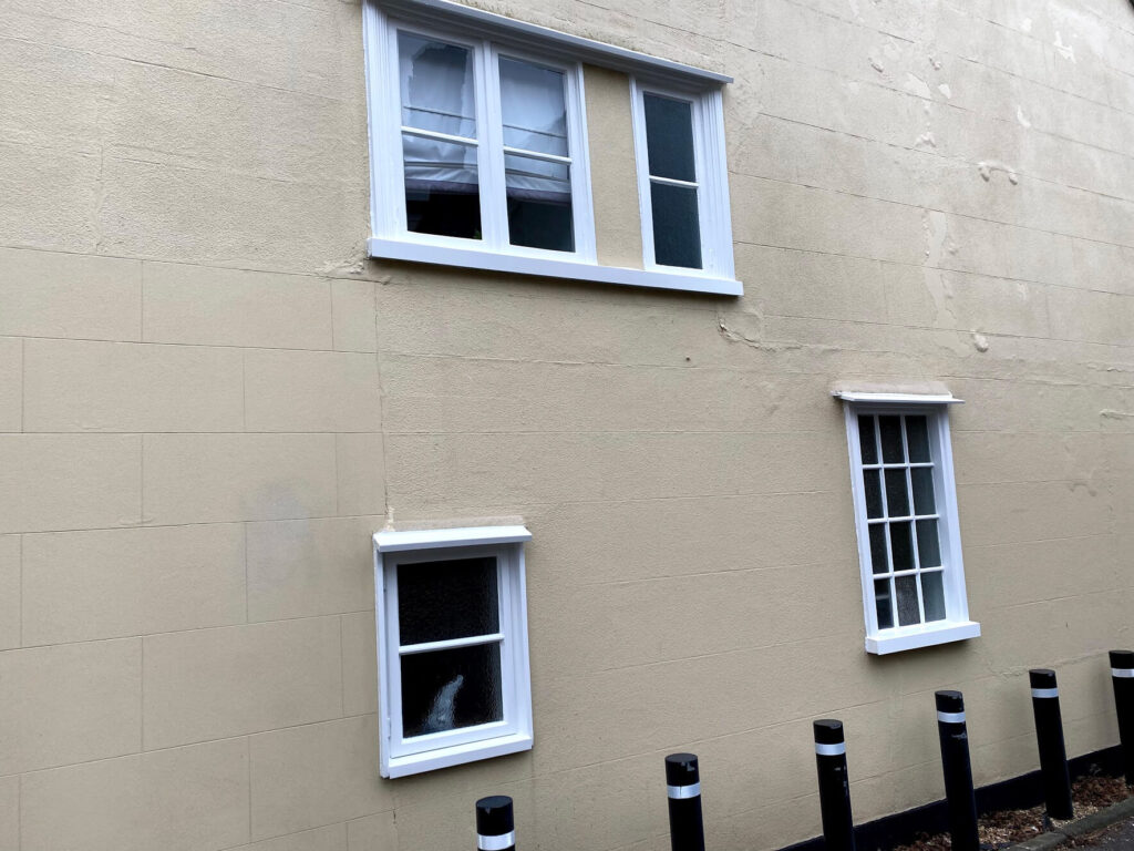 Refurbished sash windows Colchester