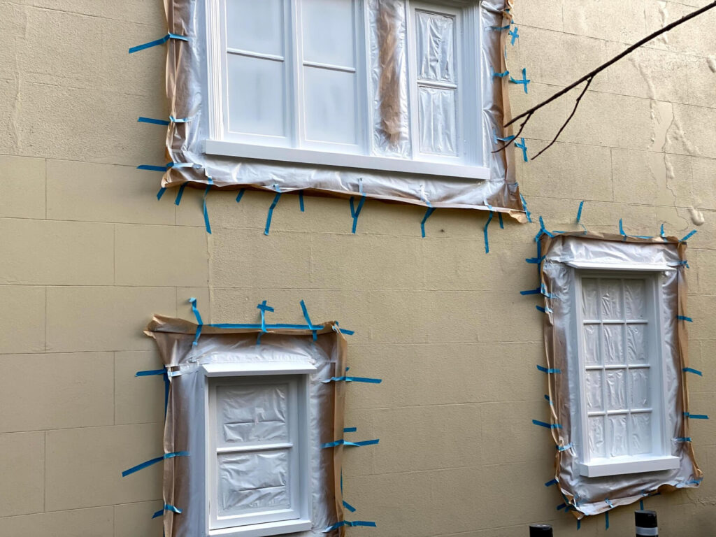 Sash windows decoration Colchester