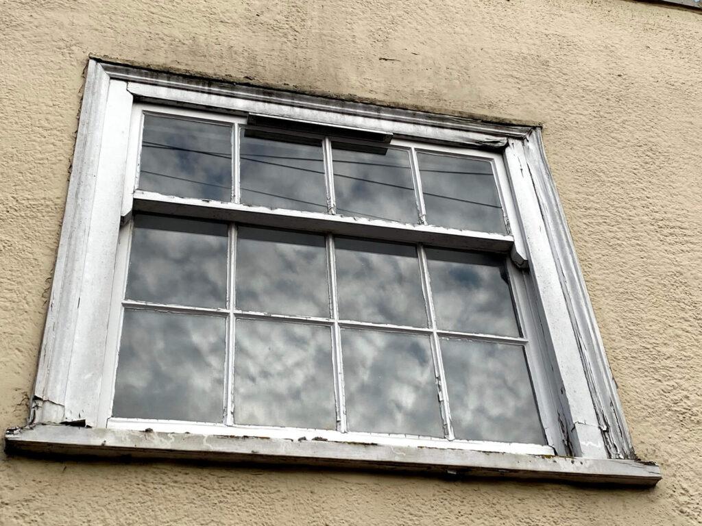 wooden sash window Kelvedon