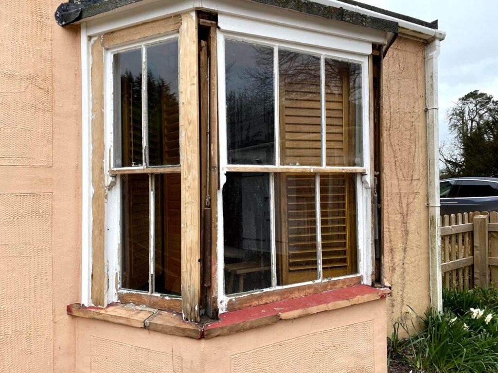 sash bay window repair