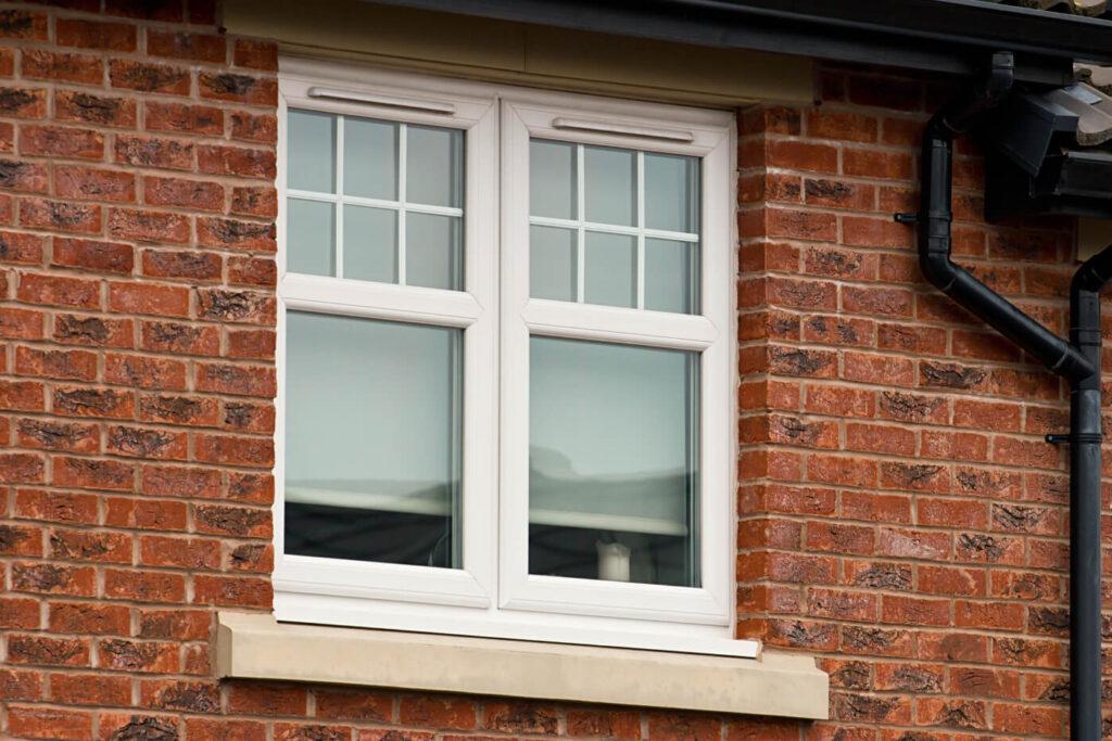 standard size of a uPVC window