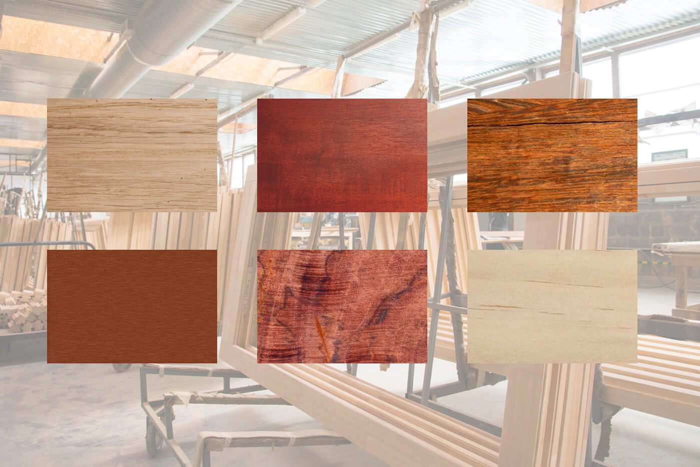 common timbers for windows